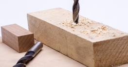 Bohren in Holz